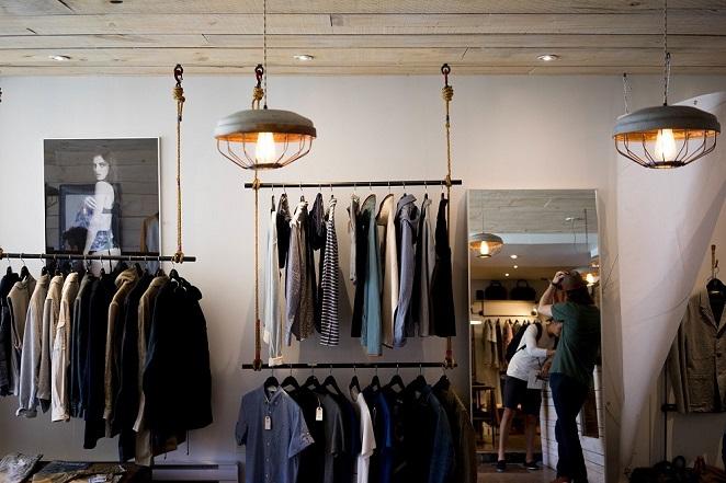店面設計‧說謊試衣間──服飾店『...