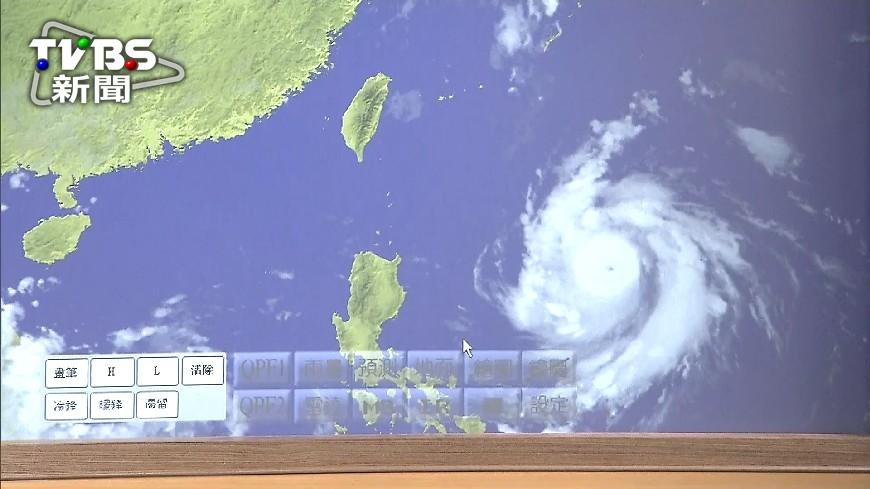 圖/TVBS 颱風來襲!東華大學公告14日「停課」 學生:佛心學校