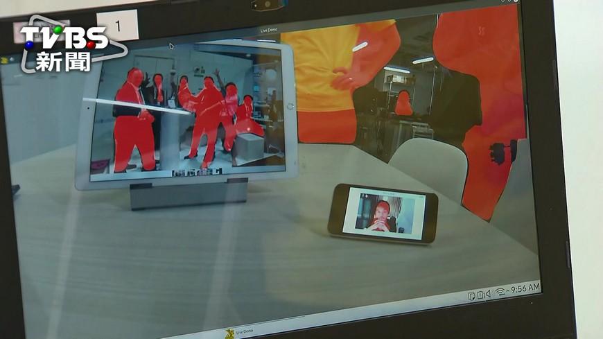 圖/TVBS 「天網」成真? 台灣公司做出AI保全系統