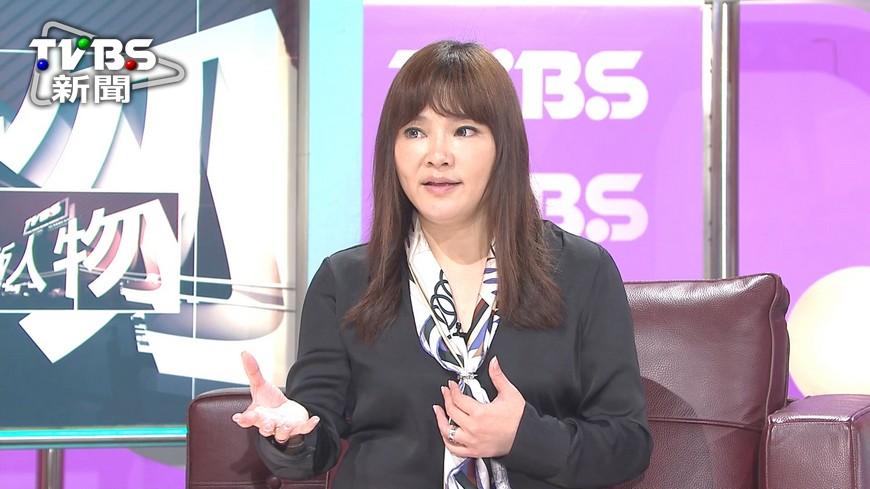 圖/TVBS 「網紅」唐立淇 直播2.6個小巨蛋
