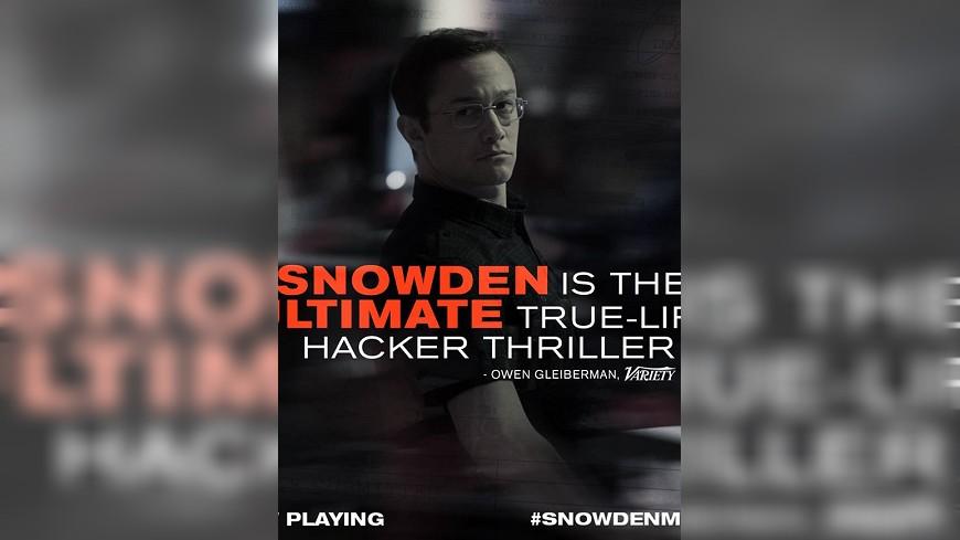 揭美政府監控網路隱私 「史諾登」被列禁片!
