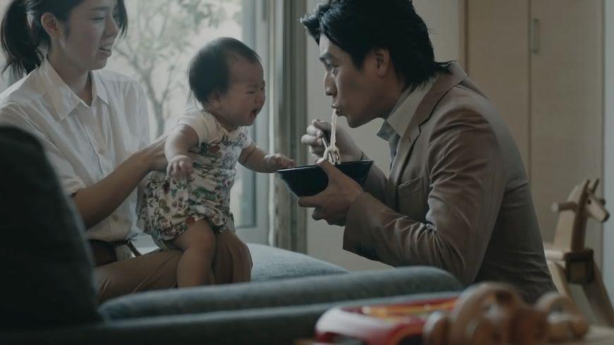 示意圖/TVBS 吃麵吃得「簌簌叫」 吸麵聲竟能哄嬰兒不哭
