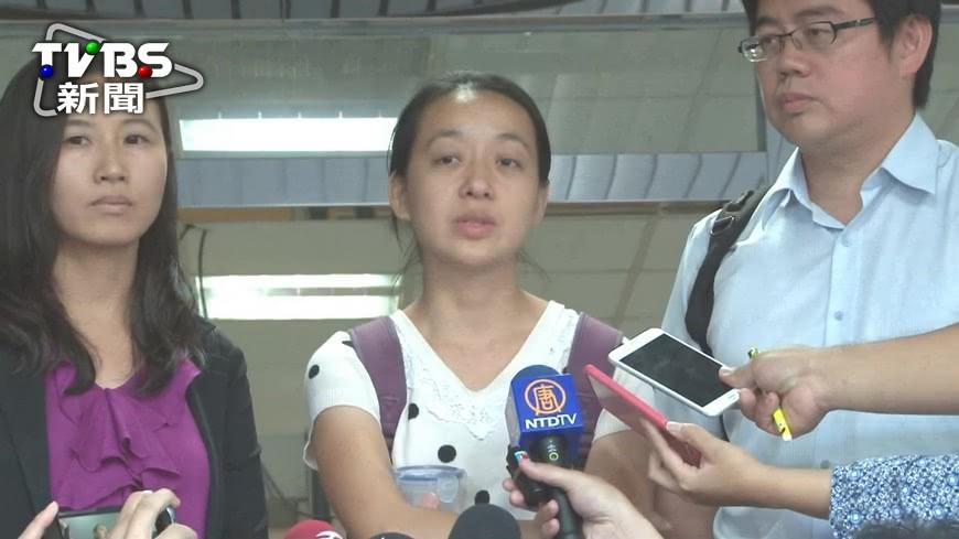 圖/TVBS 殺童嫌當庭下跪 小燈泡媽:談原諒太早