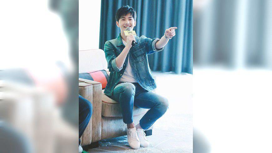 圖/臉書楊洋icon 大陸男星楊洋宣傳新片 粉絲追星如喪屍