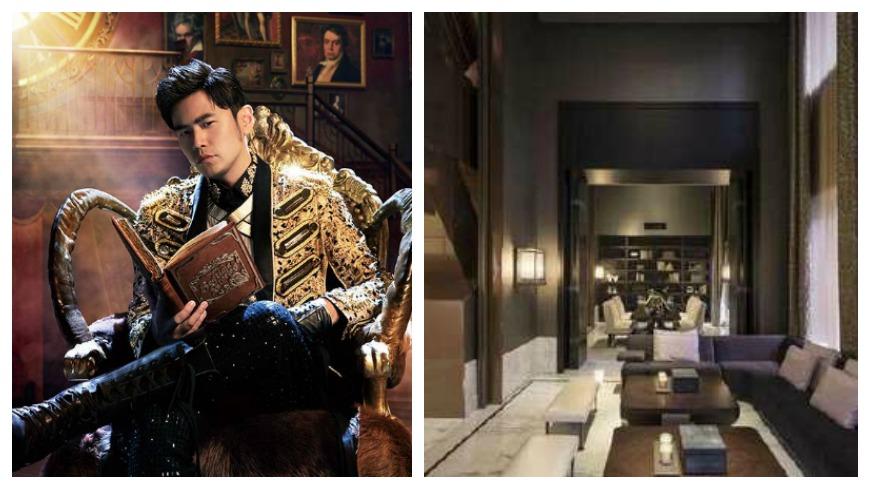 周杰倫砸6.6億買下台北大安區豪宅。(圖/翻攝周杰倫臉書、微博) 鳥瞰台北+101在眼前 周杰倫6.6億豪宅首曝光!