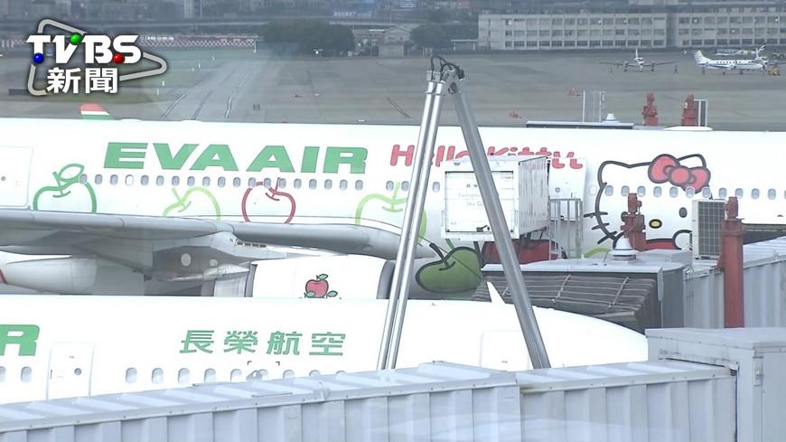 圖/TVBS 不顧安全?長榮班機颱風天仍飛 民航局介入調查