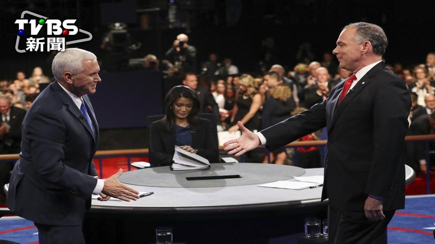 圖/達志影像美聯社 美國副總統辯論登場 4成選民不認識