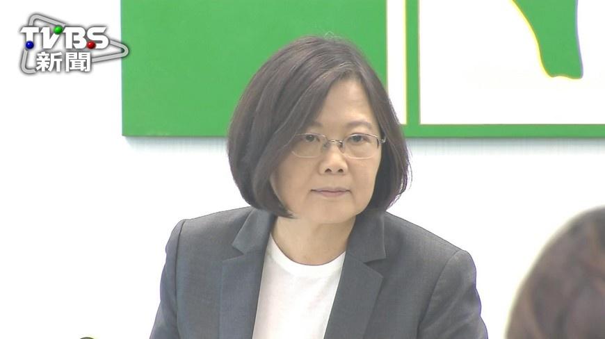 圖/TVBS 力挺同志大遊行 蔡英文:我支持婚姻平權