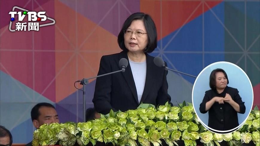 圖/TVBS 籲對岸盡快坐下來談 總統:正視中華民國存在