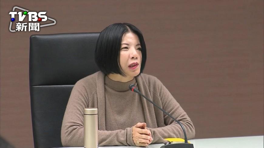 圖/TVBS資料畫面 辭文化局長 謝佩霓:真的需要休息了