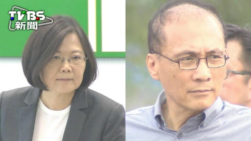 圖/TVBS 蔡總統滿意度回升 6成不贊成林全下台