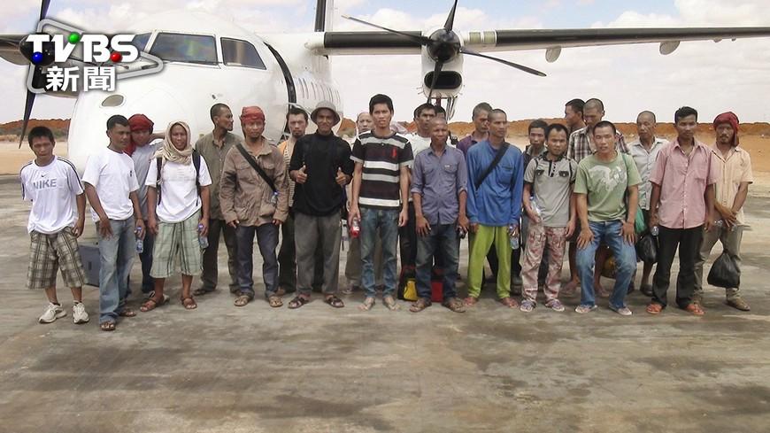 圖/達志影像美聯社 遭海盜綁架近5年 台船員獲釋抵肯亞
