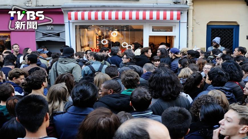 圖/達志影像美聯社 史嘉蕾喬韓森當老闆娘 巴黎開爆米花店