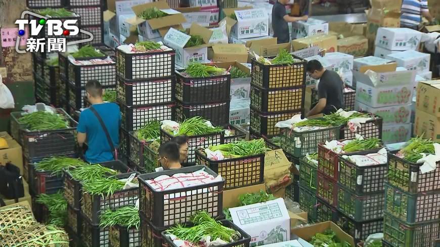 圖/TVBS 未即時掌握菜價 農委會:會檢討運作機制