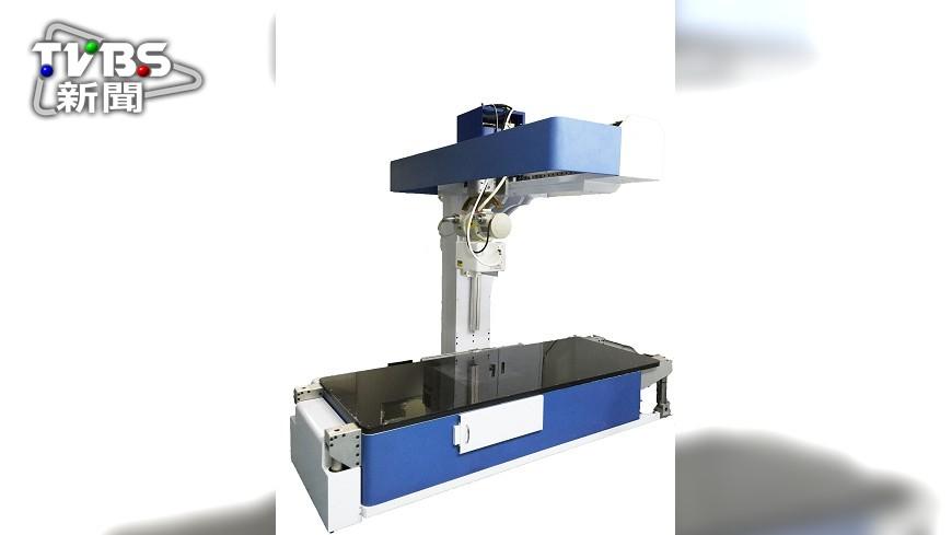 圖/中央社 原能會新 X光機 三維清晰影像降誤診率
