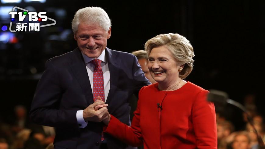 圖/達志影像美聯社 希拉蕊若當總統 先生稱謂考倒一票人