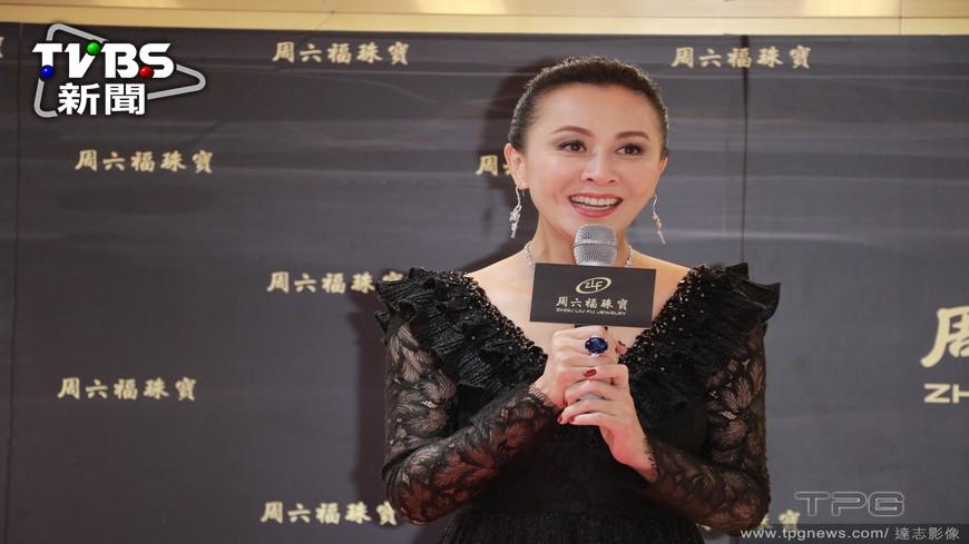 圖/達志影像TPG 劉嘉玲代言珠寶 保全吐媒體口水起衝突