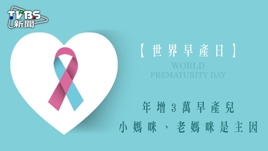 根據世界衛生組織(WHO)統計,每年約有1500萬名提早來到世界上的寶寶們,而這些寶寶若是沒有受到適當的醫療照護,發生意外死亡的機率極高,高危險孕婦要特別注意。 【世界早產日】年增3萬早產兒 小媽咪、老媽咪是主因