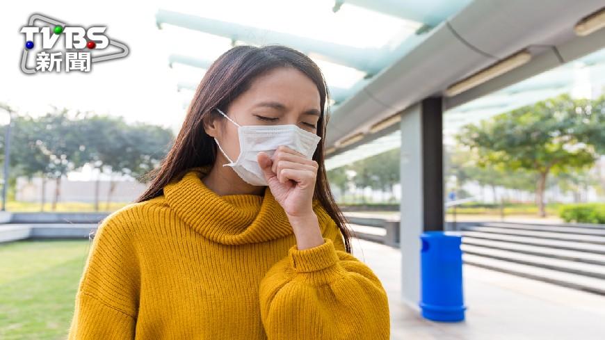 圖/TVBS 天冷空污加劇 醫:胸悶咳嗽增3成