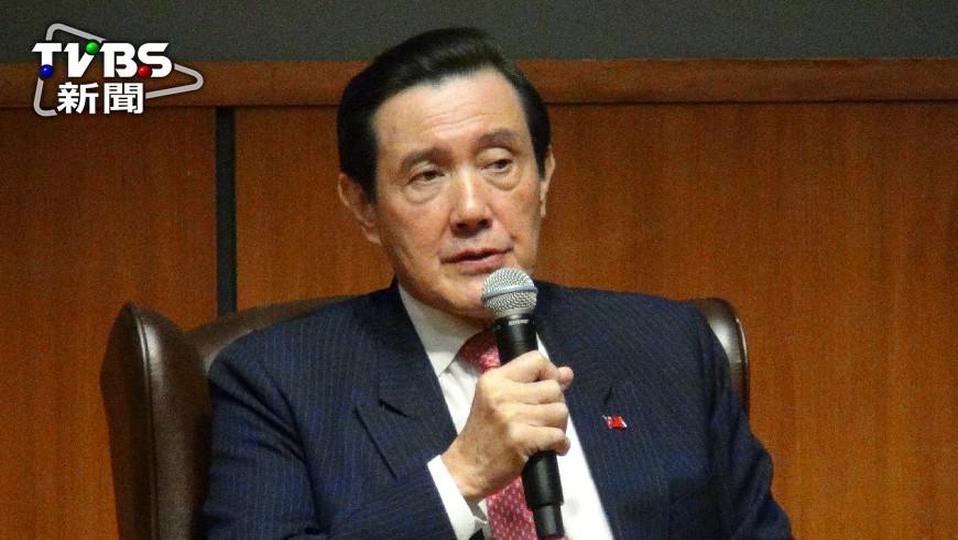 圖/中央社 川普上台 馬:不相信對台政策會改變