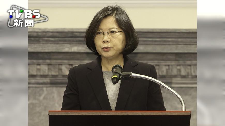 圖/中央社 蔡總統:國軍必須與時俱進 受國人肯定