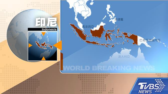 圖/TVBS 快訊/印尼蘇門答臘外海6.8強震 已發海嘯警報