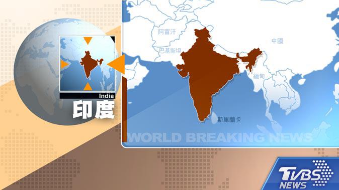 圖/TVBS 快訊/印度阿薩姆省發生規模5.9地震 深度僅14公里