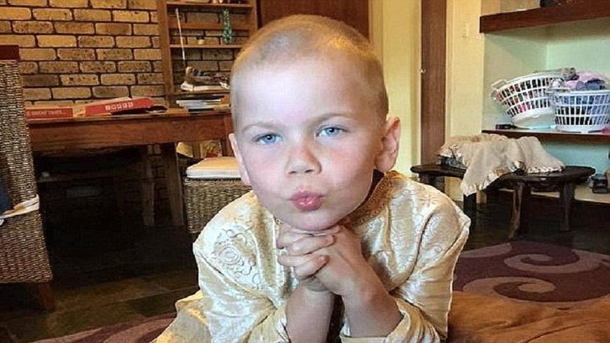 圖/ Ange Love Kiszko 臉書 「為什麼認為他可以承受?」父母拒治療...6歲童癌逝