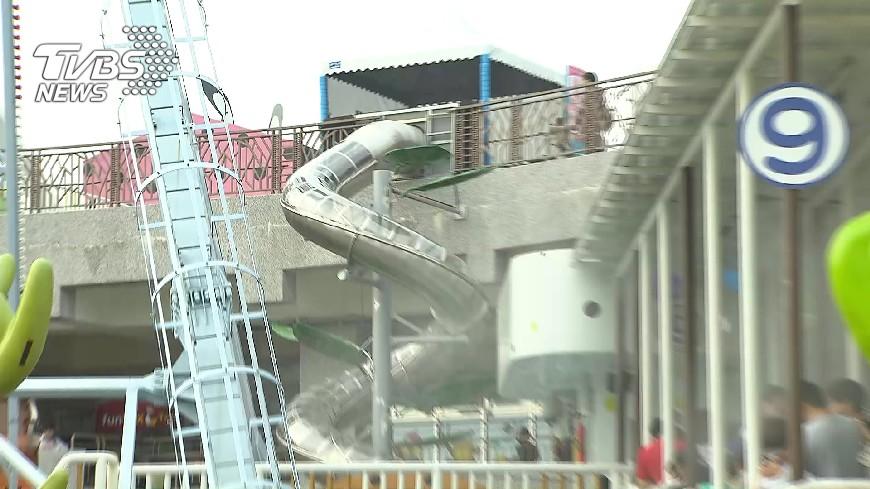 圖/TVBS 10米新滑梯收80元!免費高滑梯遭拆挨批