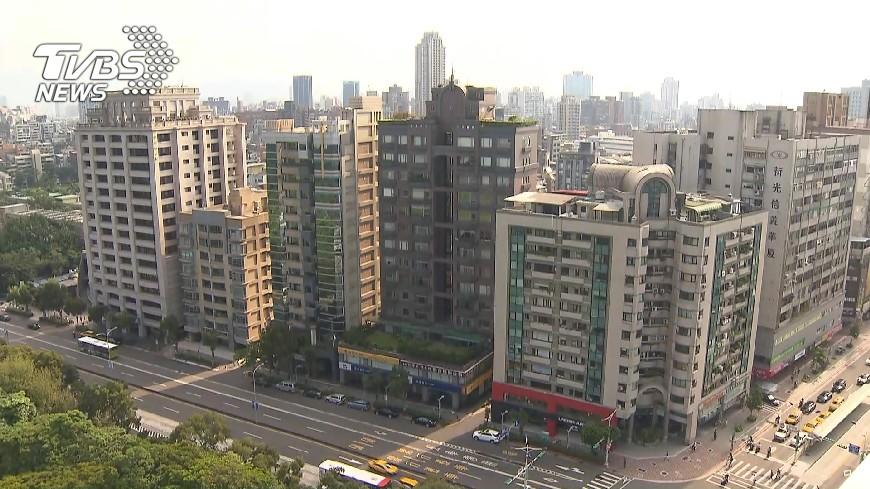 圖/TVBS 北市公布標準住宅單價 每坪近50萬元