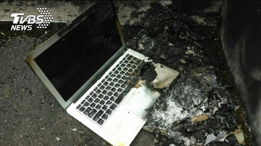 胡家瑞將死者筆電燒毀,多年研究心血付之一炬。圖/TVBS資料畫面