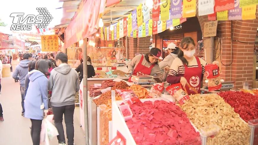 圖/TVBS 假日試辦徒步區 迪化街商圈辦派對吸客
