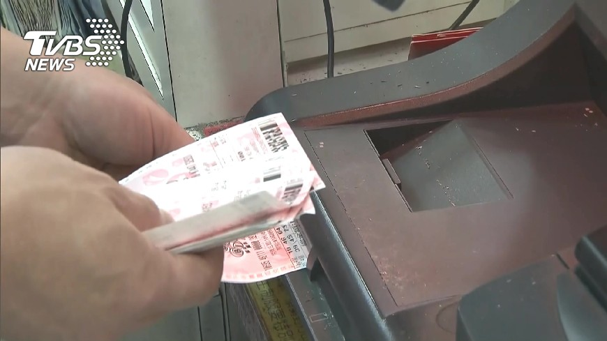 圖/TVBS 今彩539頭獎獎落台南 一注獨得800萬
