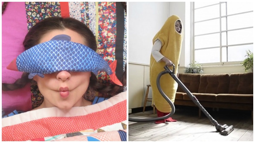 保暖、紓壓好療癒!魚魚眼罩VS.炸蝦睡袋