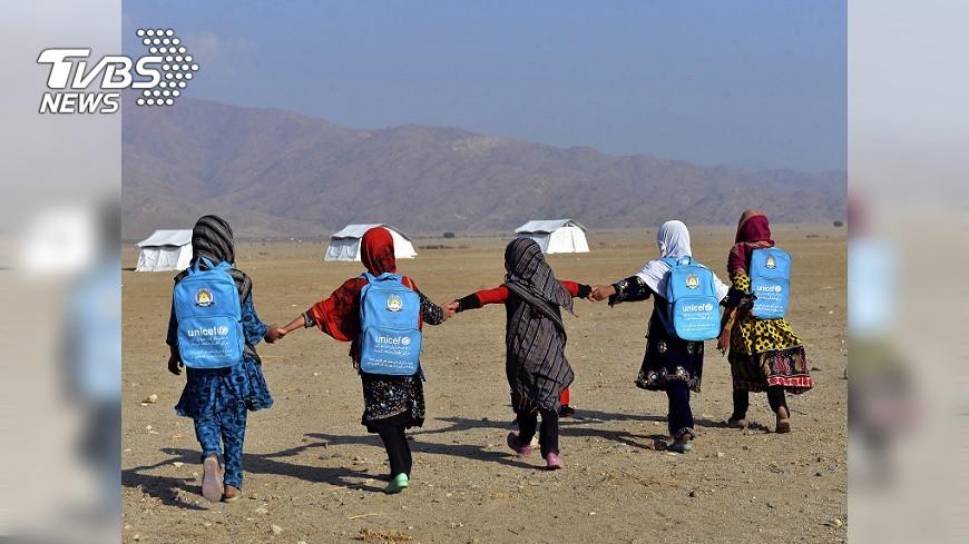 圖/達志影像美聯社 阿富汗上萬平民因戰火傷亡 1/3為兒童