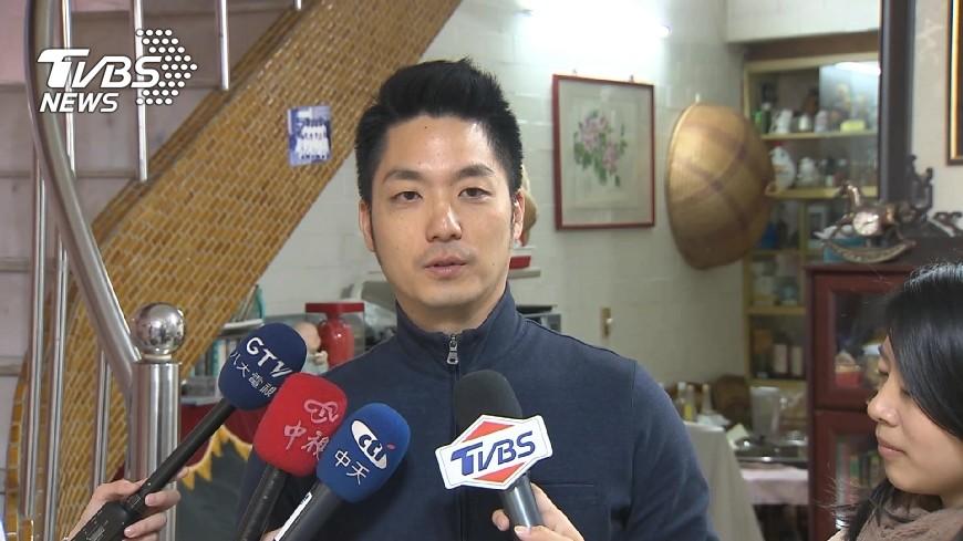 圖/TVBS 傳國民黨徵召選北市長 他示警:這是毀掉蔣萬安