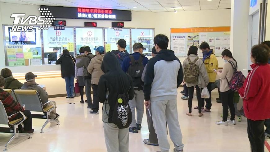 圖/TVBS 諾羅病毒肆虐 腹瀉就醫單週破14萬人次