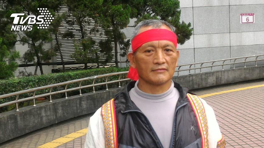 總統特赦王光祿(圖/TVBS資料畫面) 布農族獵人王光祿捕山羌遭判刑 總統蔡英文特赦