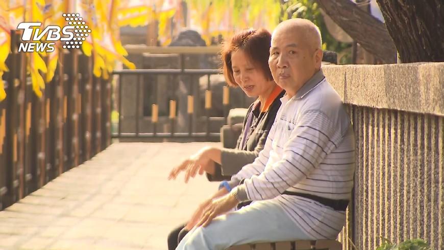 圖/TVBS 跌倒重創 社區老人發生率30%