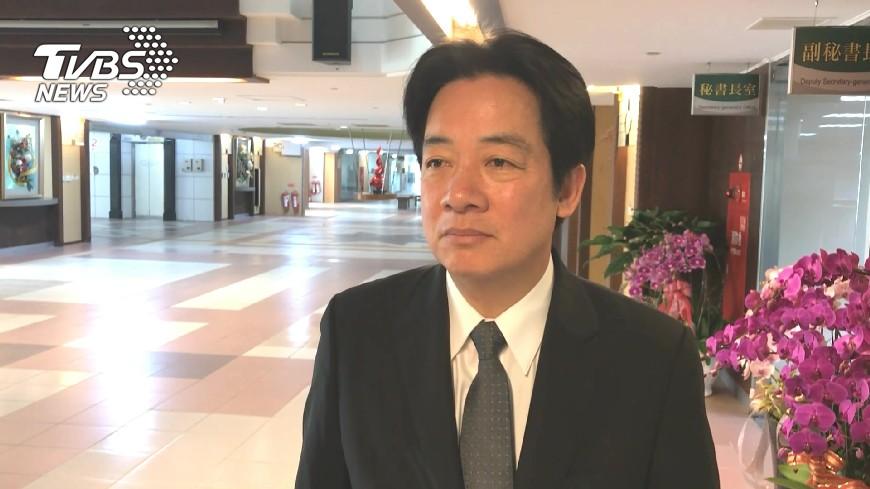 圖/TVBS 賴清德解釋親中愛台 台獨立場沒有改變