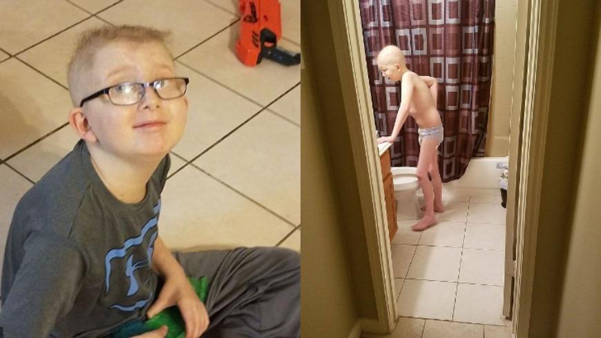圖/翻攝自Jessica Medinger臉書 童日吞44顆藥抗癌 「怕看不到11歲的生日...」