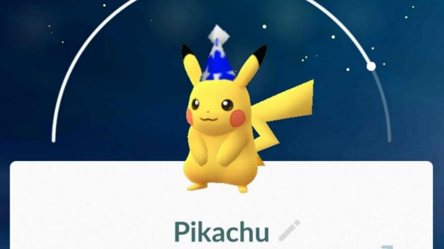 圖/Pokemon:GO Taiwan 連假驚喜!Pokémon GO「派對帽皮卡丘」將出現