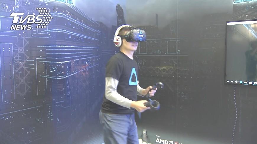 圖/TVBS 唐鳳看VR發展迷思 指出是這一點