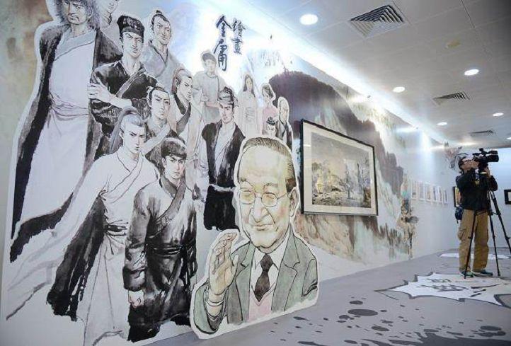 圖/TVBS 快訊/用郭靖、黃蓉寫小說 金庸怒告陸作家侵權