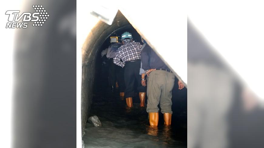 圖/中央社 川流不息94載 水公司要借鏡二峰圳