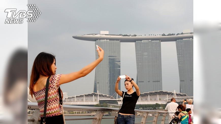 圖/達志影像路透社 台灣人最好感度國 民調:新加坡排第一