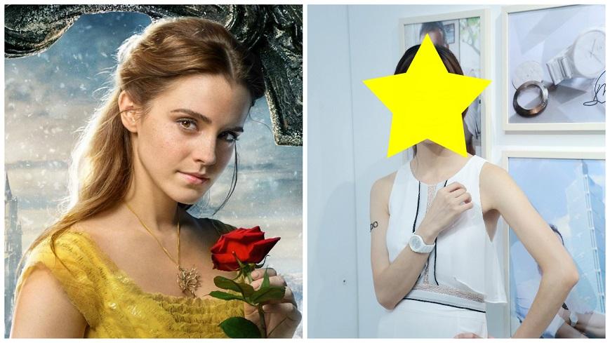 圖/Belle FB、達志影像 誰是台版《美女與野獸》貝兒? 網友一致大推「她」