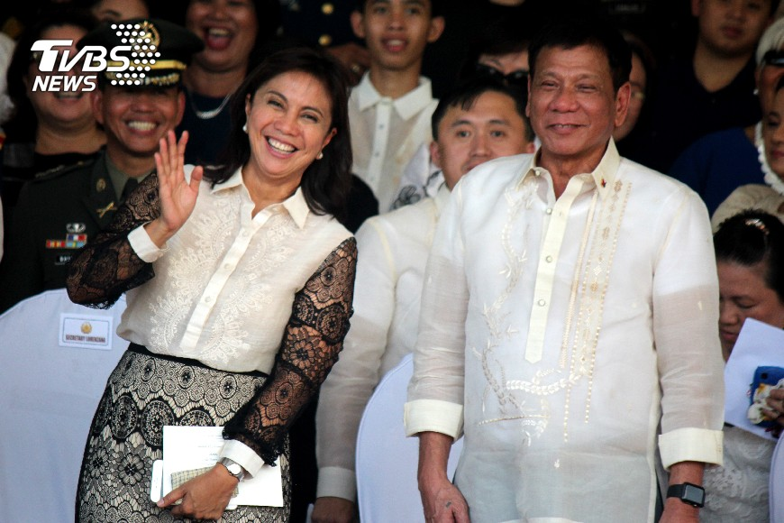 圖/達志影像美聯社 全球罕見!菲國正副總統同時面臨彈劾