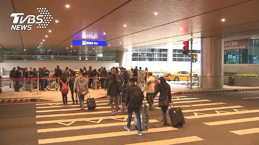 圖/TVBS 桃機董事長:新南向國家已成為重要旅客來源