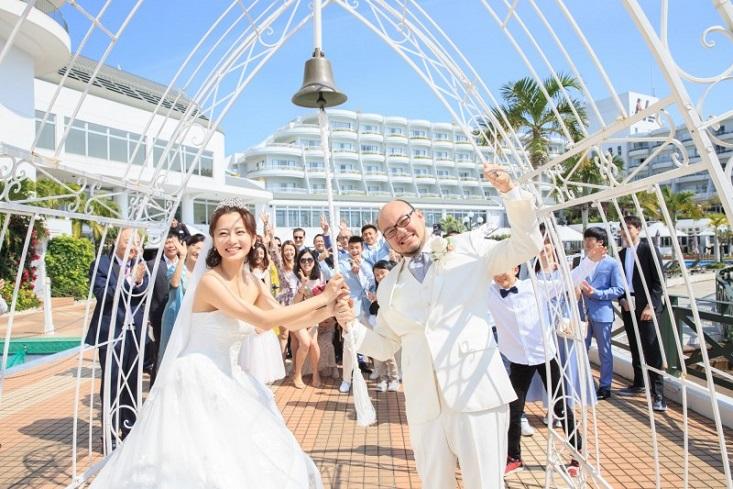 圖/經紀公司提供 超美!趙小僑沖繩婚禮 淚喊:我是全世界最幸福的女人
